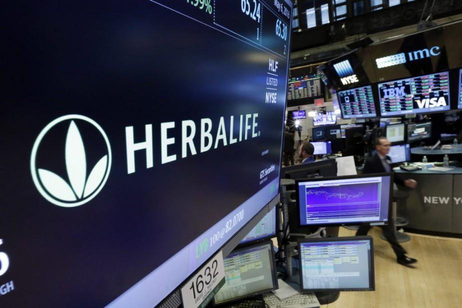 Fondée en 1980, Herbalifeécoule ses substituts de repas... (Photo Richard Drew, Archives AP)