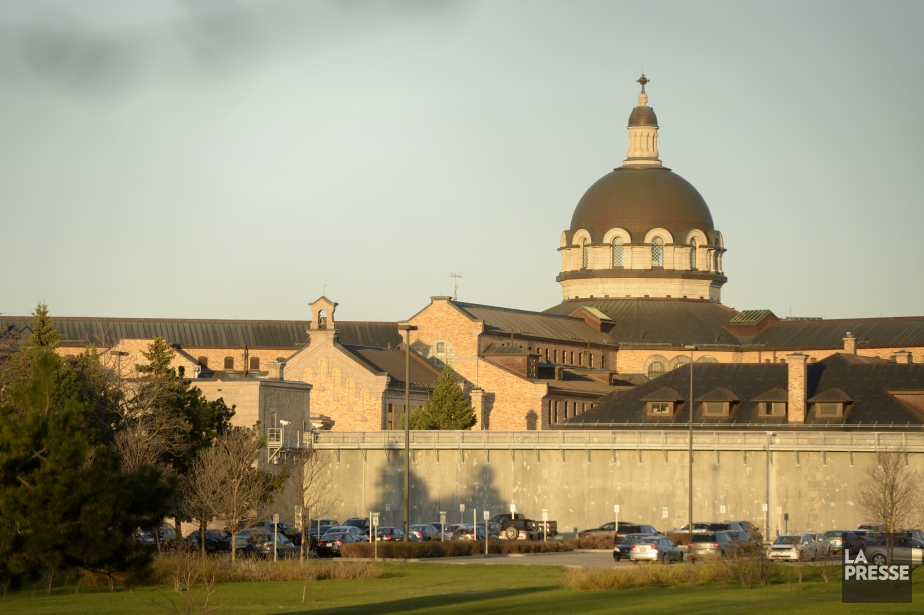 La prison de Bordeaux, située à Montréal.... (PHOTO BERNARD BRAULT, ARCHIVES LA PRESSE)