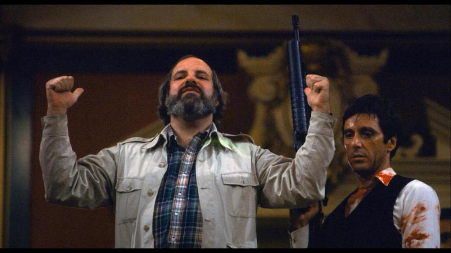 Brian De Palma et Al Pacino dans le... (Photofournie parRemstar)