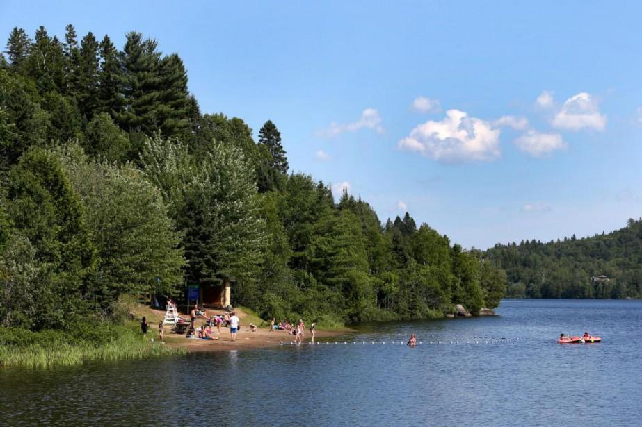 La baignade a été interdite durant neuf ans... (PHOTO ROBERT SKINNER, LA PRESSE)