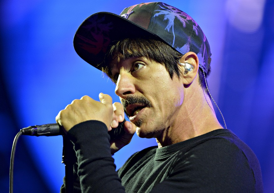 Anthony Kiedis, le chanteur de Red Hot Chili Peppers (Le Soleil, Pascal Ratthé)