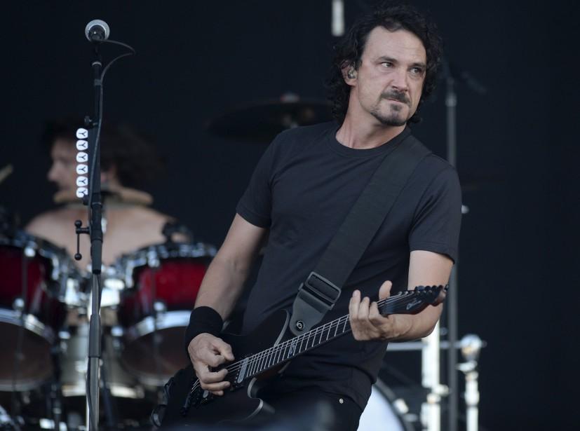 Joseph Duplantier, le chanteur de Gojira, en première partie de Rammstein (Le Soleil, Yan Doublet)