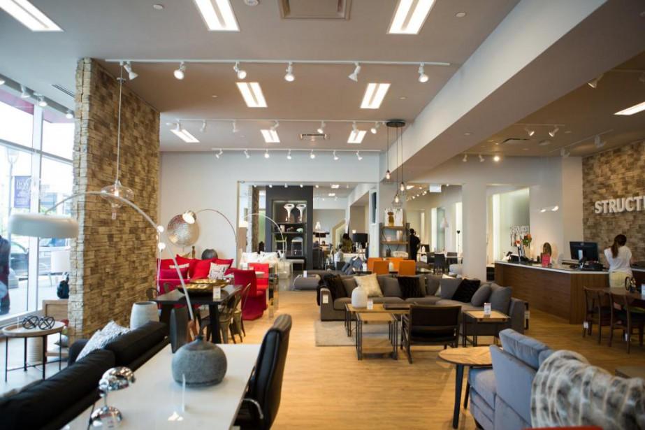 Cette année, le détaillant montréalais Structube ouvrira sixnouveaux... (Photo fournie par Structube)