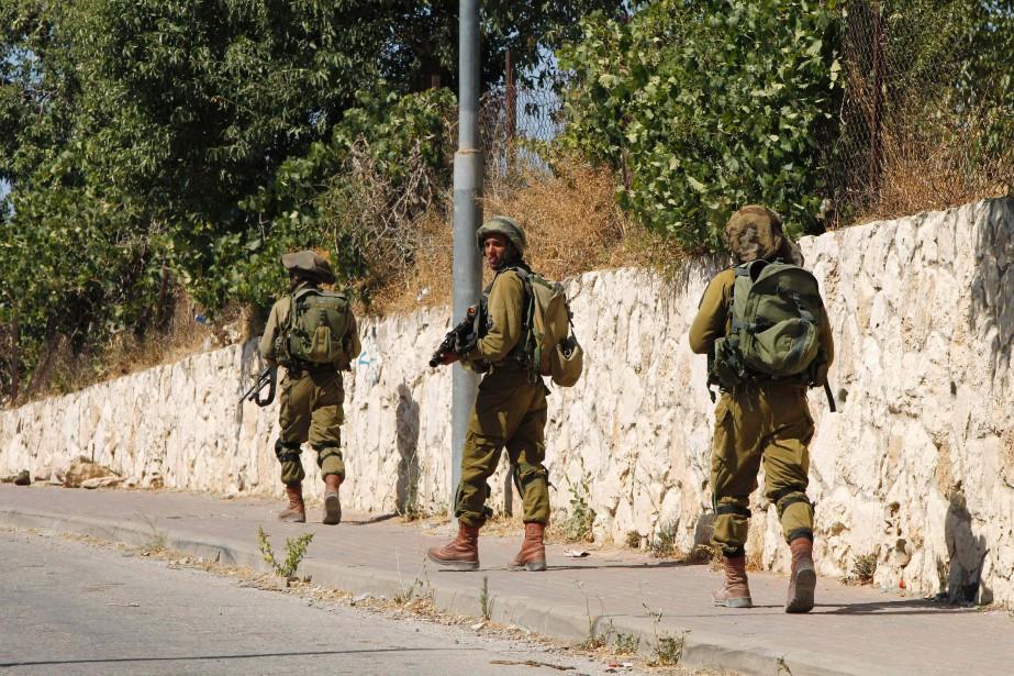 Les soldats ont été attaqués durant des «activités... (Photo hazem bader, AFP)