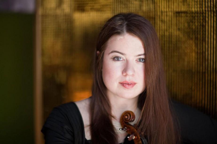 Lara St. John a commencé à jouer du... (Photo Paul Clancy, fournie par le Festival de Lanaudière)