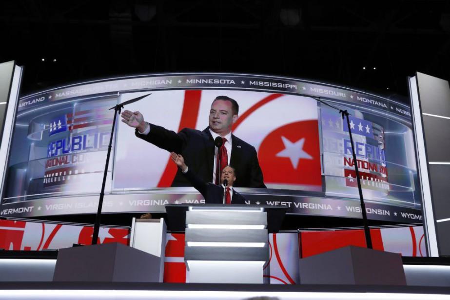À l'ouverture des débats, le président du parti,... (Photo Carolyn Kaster, Associated Press)