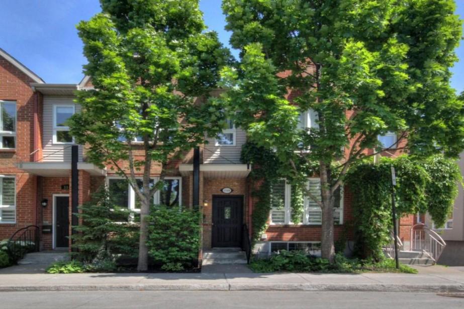 C'est le secret le moins bien gardé en ville:cette maison à... (Photo Centris)