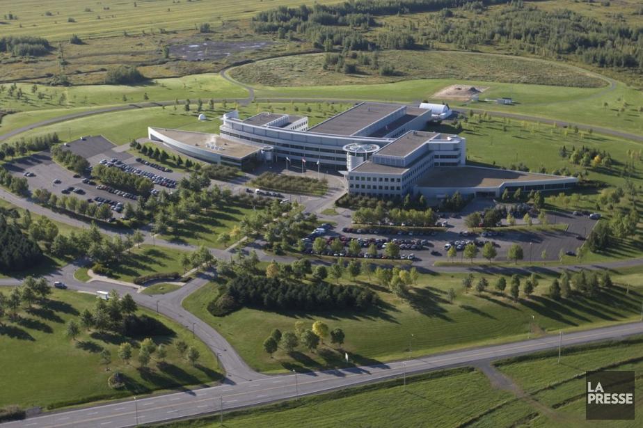 Le siège de l'Agence spatiale canadienne, à Longueuil.... (PHOTO IVANOH DEMERS, ARCHIVES LA PRESSE)