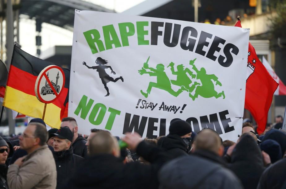 Les «Patriotes européens contre l'islamisation de l'Occident» (Pegida)... (REUTERS)
