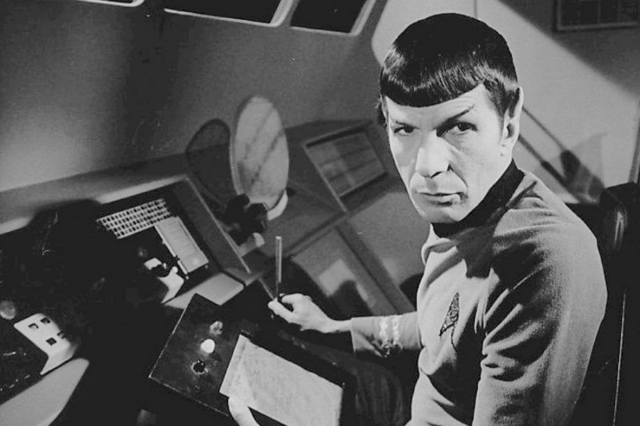 Leonard Nimoy incarne Monsieur Spock dans Star Trek.... (Photo NBC Television)