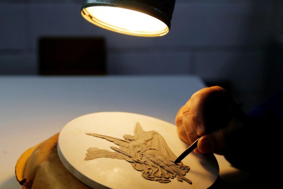 Une fois sculptée avec de la pâte à... (Sergio Moraes, archives REUTERS)