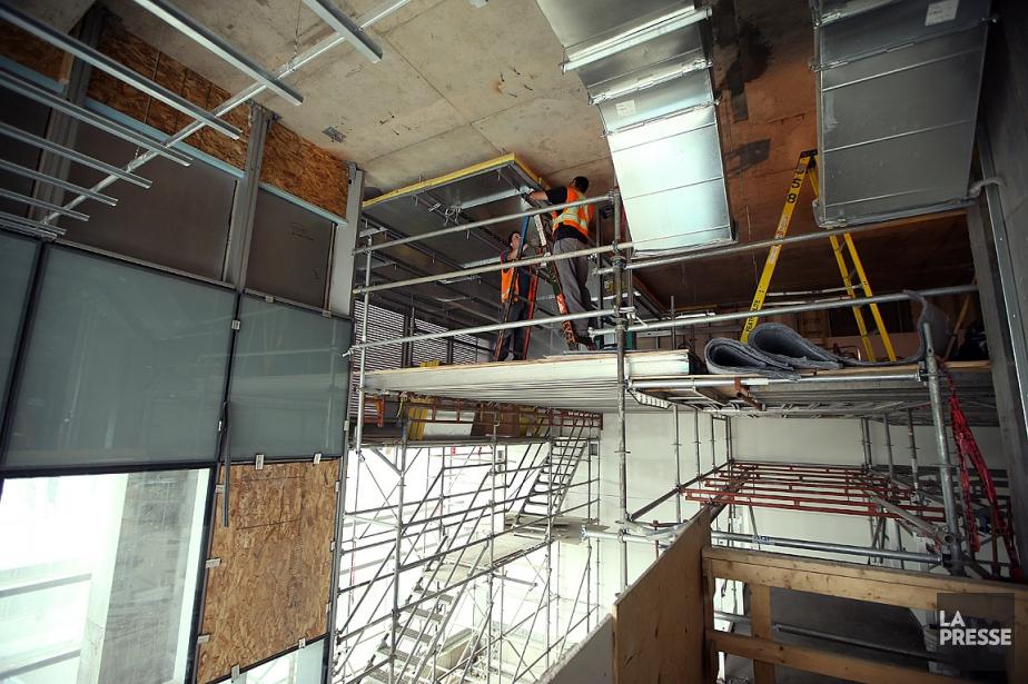 L'organisme avait ordonné l'évacuation du chantier vendredi matin... (PHOTO Martin Chamberland, ARCHIVES LA PRESSE)