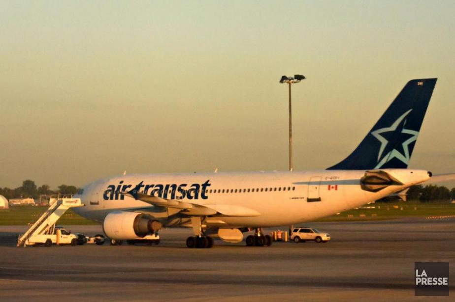 Air Transat a déclenché une enquête sur le... (Photo Bernard Brault, Archives La Presse)