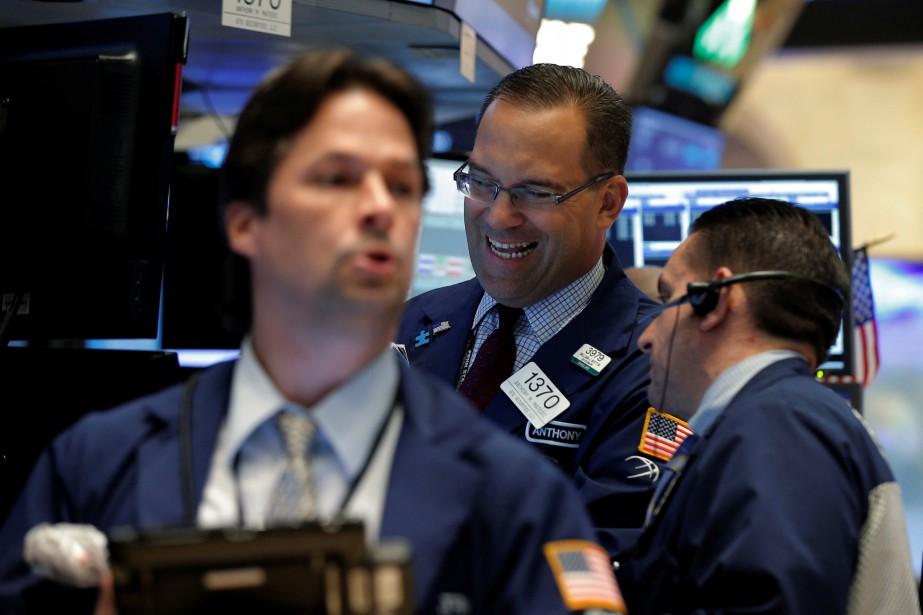 «Pour le moment, la Bourse semble vraiment avoir... (PHOTO REUTERS)