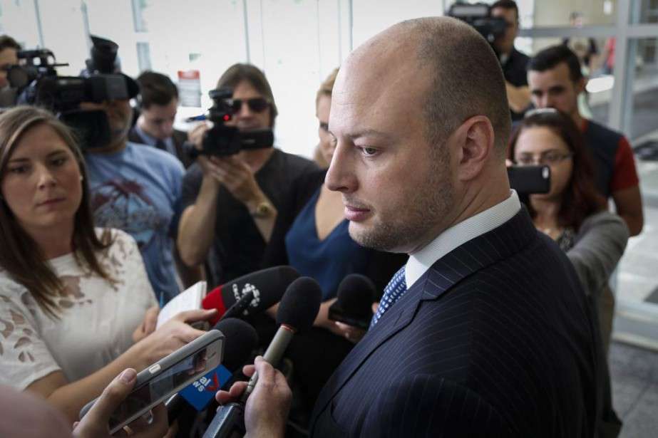 L'avocat d'Edward Downey,Gavin Wolch.... (Photo Jeff McIntosh, La Presse Canadienne)