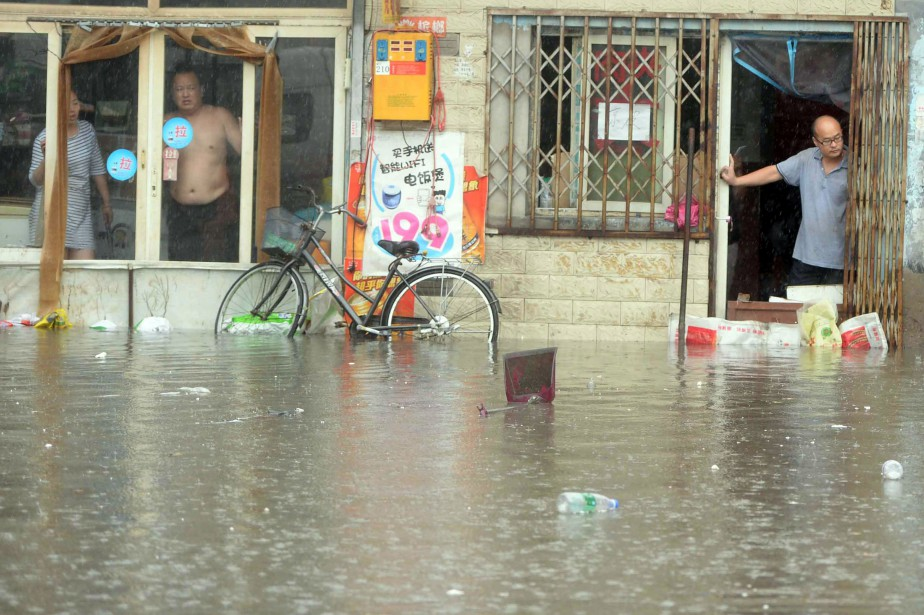 Pékin a reçu mardi et tout au long... (AFP)