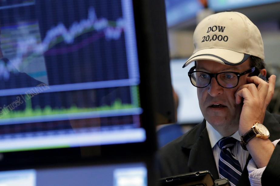 Désormais, «la Bourse américaine fait une pause près... (PHOTO BRENDAN MCDERMID, REUTERS)