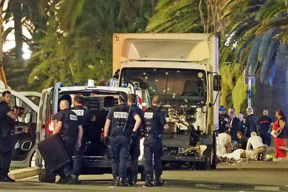 Le mode opératoire rudimentaire de l'attentat de mercredi... (Archives AP)