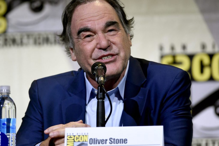 Oliver Stone au Comic-Con de San Diego.... (Photo Chris Pizzello, Invision/AP)