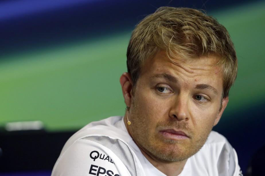 Nico Rosberg semblait calme et confiant durant la... (Photo : AP)