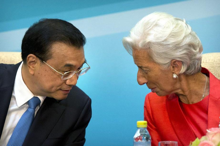 Le premier ministre chinois Li Keqiang et la... (Photo Mark Schiefelbein, AP)
