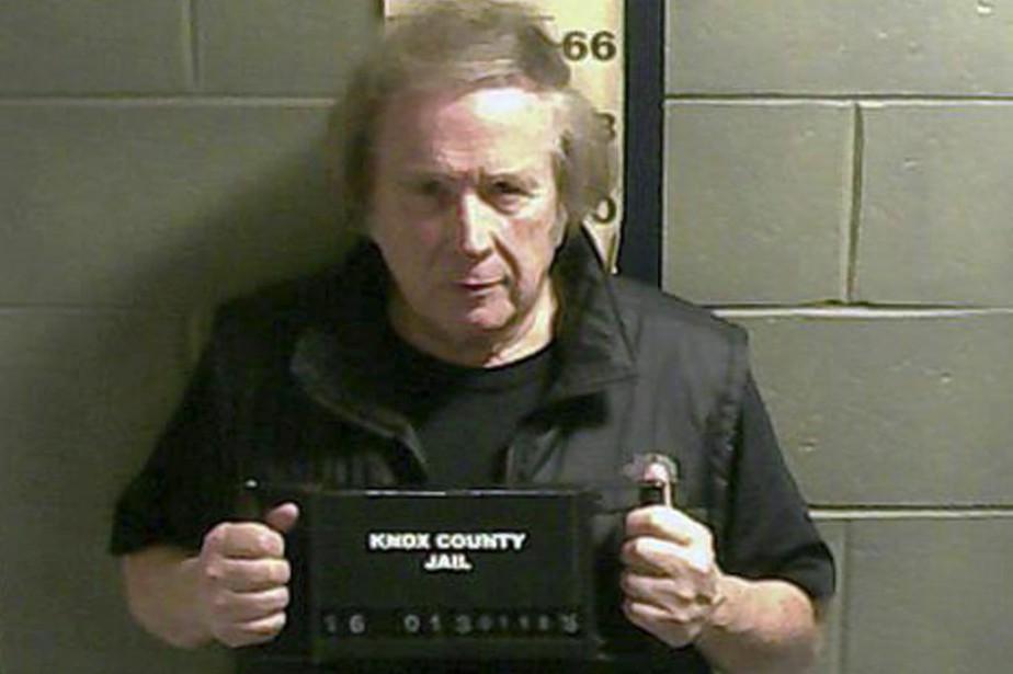Don McLean lors de son arrestation en janvier... (PHOTO ARCHIVES AP)