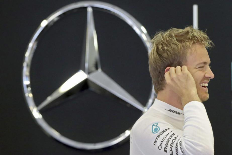 Le pilote Nico Rosberg a signé une prolongation... (Photo : afp)