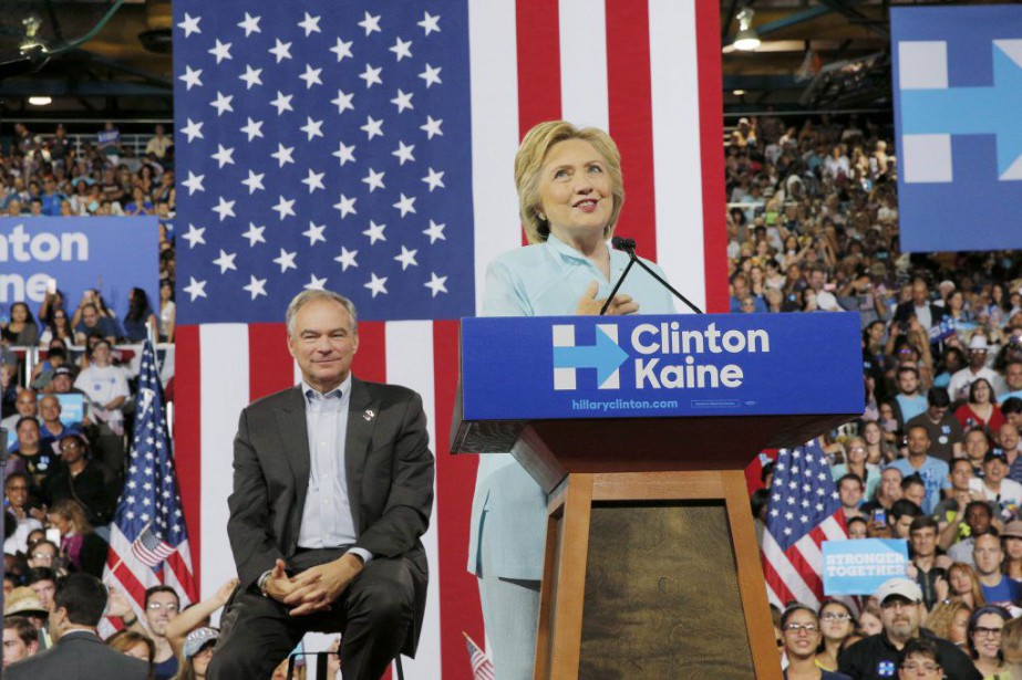 La candidate du camp démocrate Hillary Clinton a... (Photo BRIAN SNYDER, Reuters)