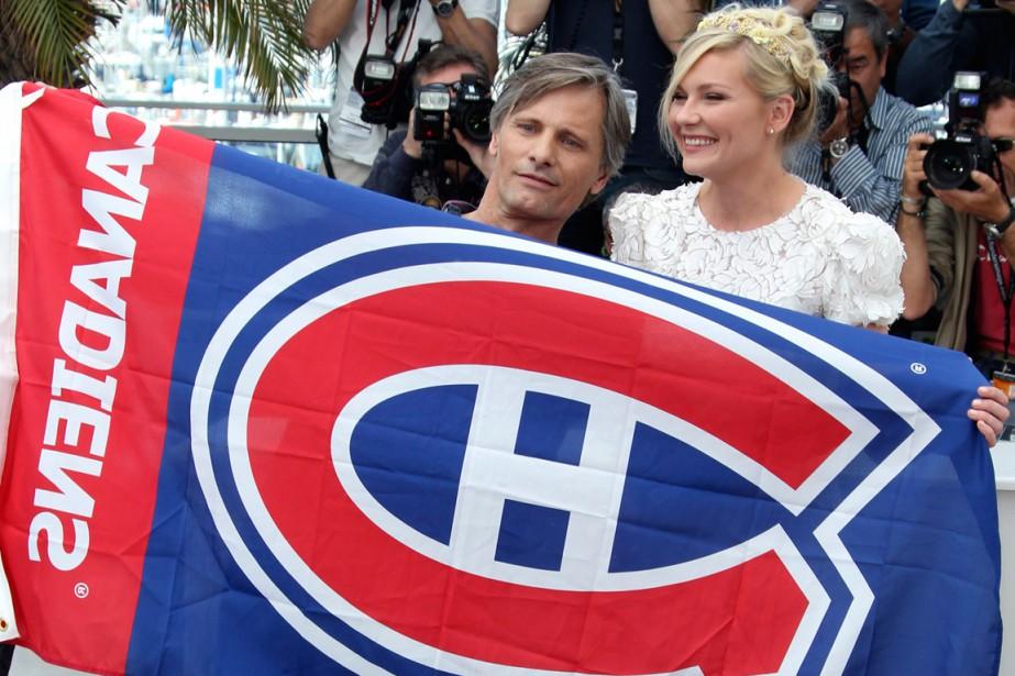 Grand partisan du Canadien de Montréal, Viggo Mortensen... (PHOTO JOEL RYAN, ARCHIVES AP)