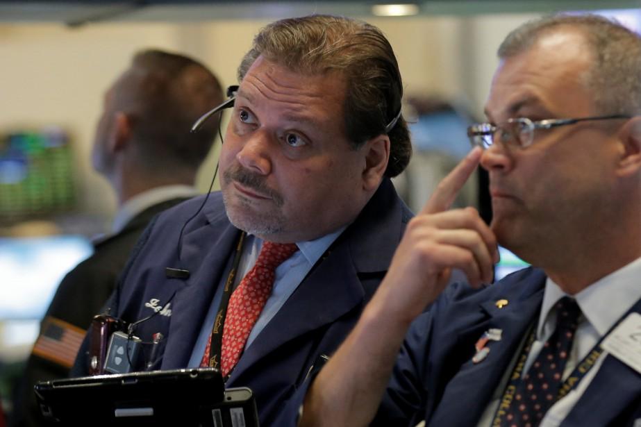 Wall Street a fini en baisse lundi, les investisseurs... (PHOTO ARCHIVES REUTERS)