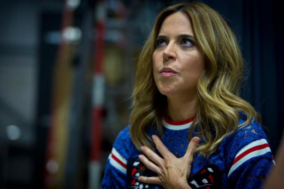Julie Snyder  a utilisé le mot «supplice» pour... (Photo Olivier Jean, La Presse)