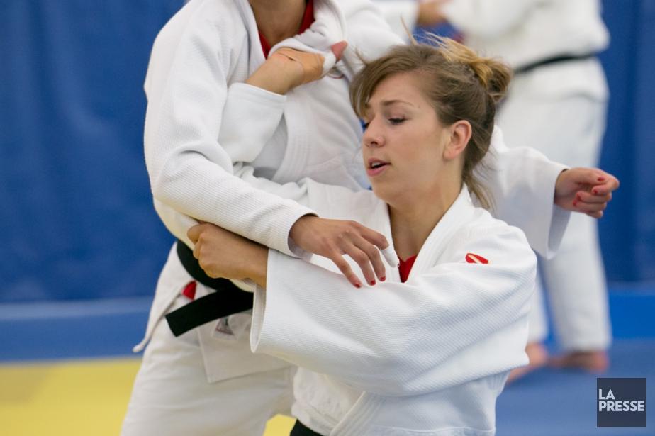 Médaillée d'argent et de bronze aux Mondiaux juniors... (PHOTO MARTIN TREMBLAY, archives LA PRESSE)