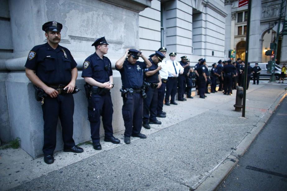 Tous les policiers de New York en patrouille seront bientôt équipés d'un... (AFP)