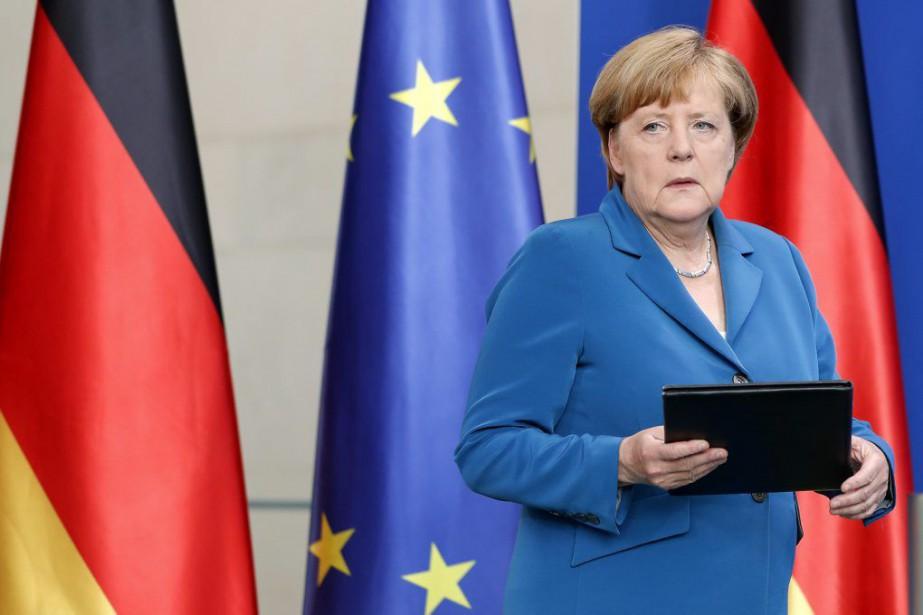 Angela Merkel... (Photo Michael Sohn, archives Associated Press)