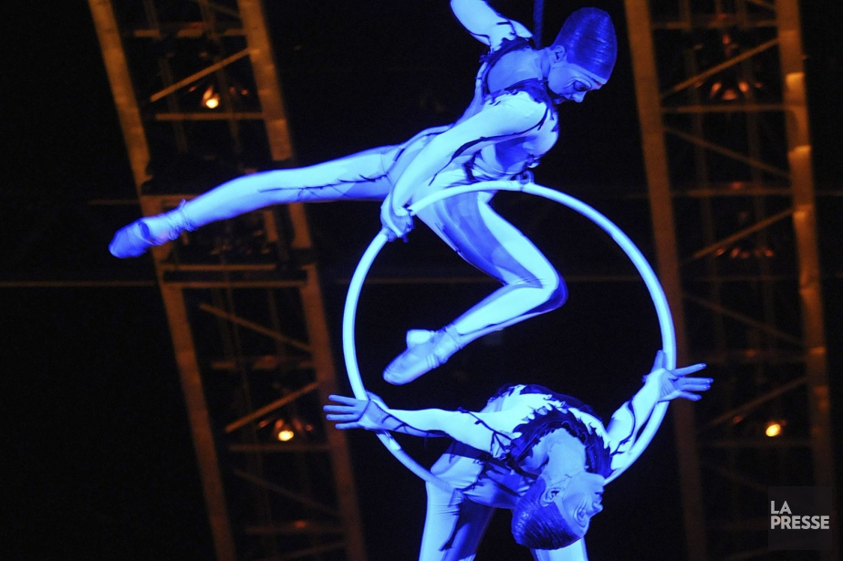 Le Cirque du Soleil s'est vu confier la... (PHOTO ARCHIVES LA PRESSE)