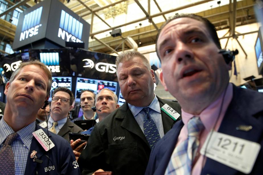 «Les marchés digèrent des résultats d'entreprises positifs, emmenés... (PHOTO REUTERS)