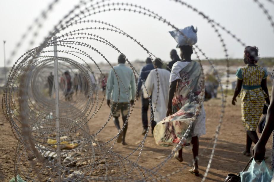 Des soldats sud-soudanais auraient violé la semaine dernière... (photo Jason Patinkin, archives AP)