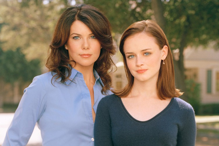 Lauren Graham et Alexis Bledel, les deux actrices... (ARCHIVES AP)