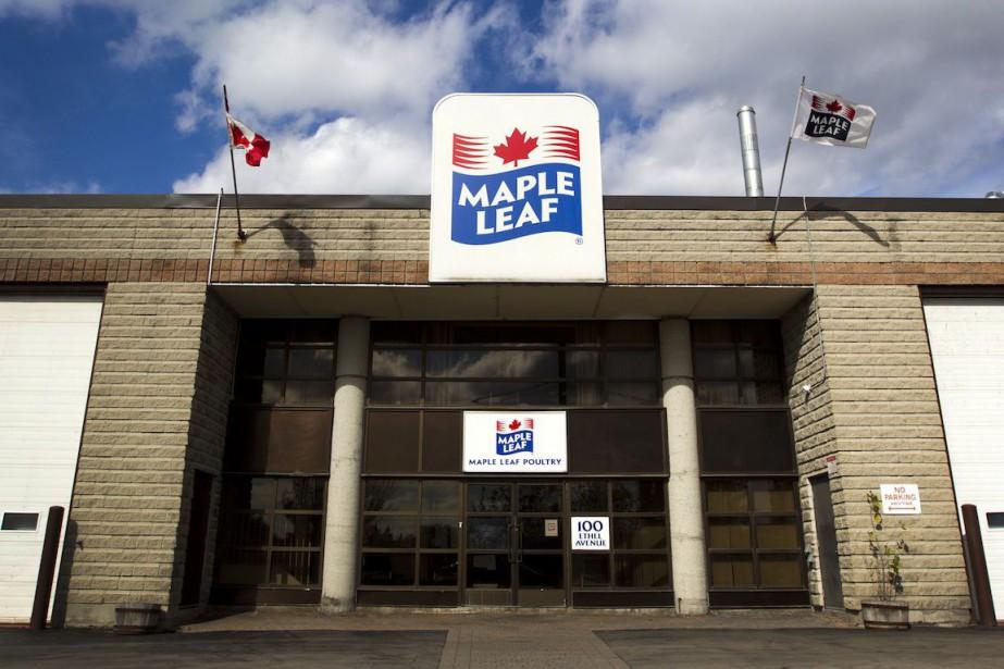 Les Aliments Maple Leaf ont affiché jeudi un bénéfice net de 31,4 millions pour...
