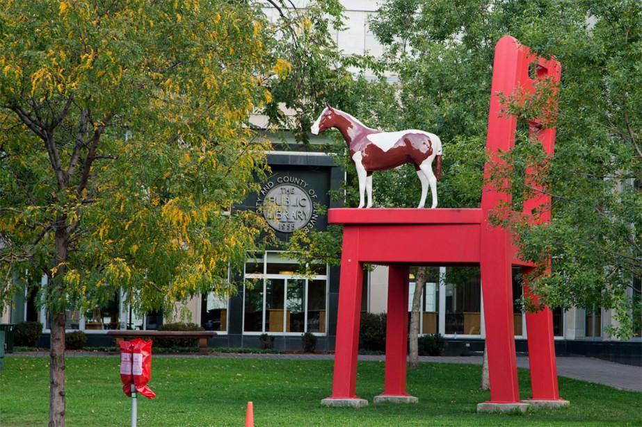 Art public et marijuana à Denver. C'est ce... (PHOTO ALAIN ROBERGE, LA PRESSE)