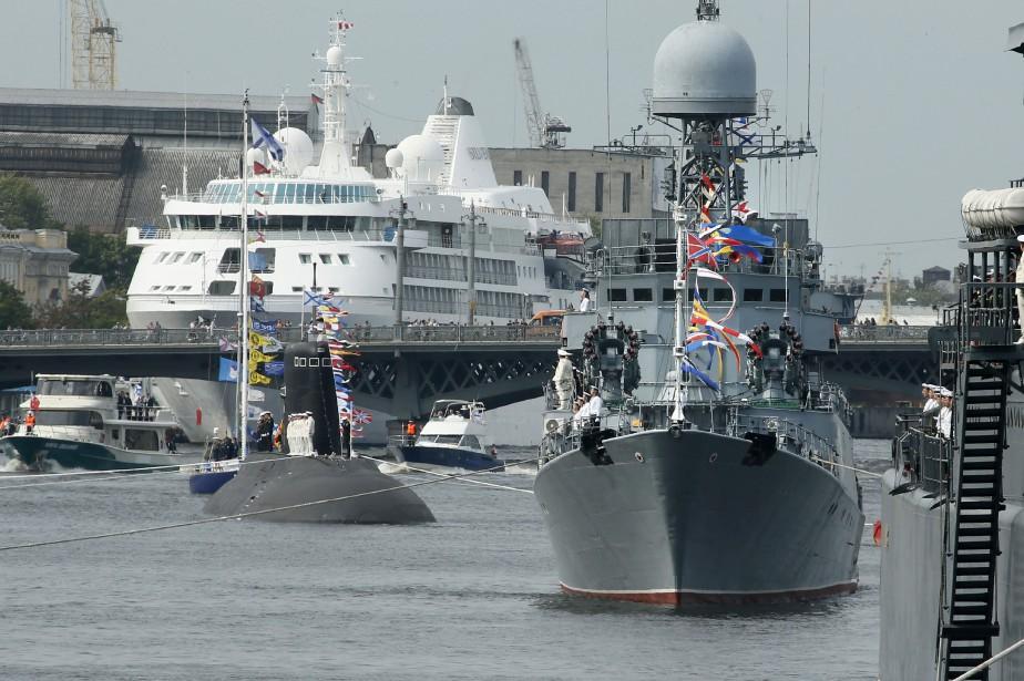 L'initiative sino-russe intervient dans un contexte de tensions... (Photo Archives AP)