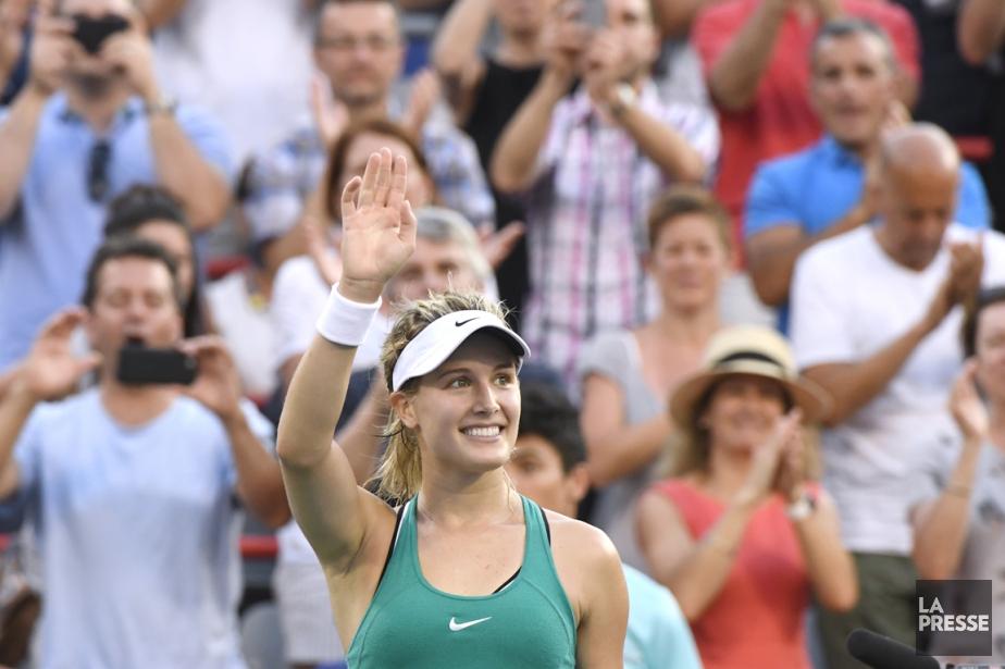 Détentrice du 42e rang mondial, Eugenie Bouchard semble... (photo Bernard Brault, La Presse)