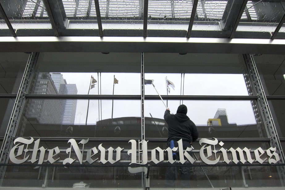 Le quotidien américain New York Times a vu... (PHOTO ARCHIVES REUTERS)