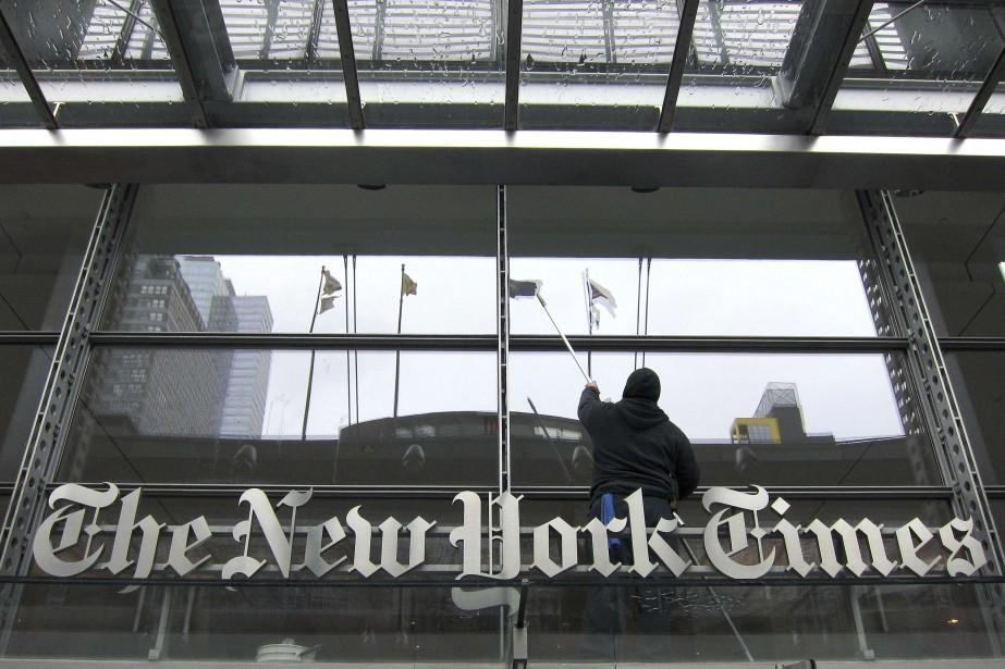 Le quotidien américainNew York Timesa vu... (PHOTO ARCHIVES REUTERS)