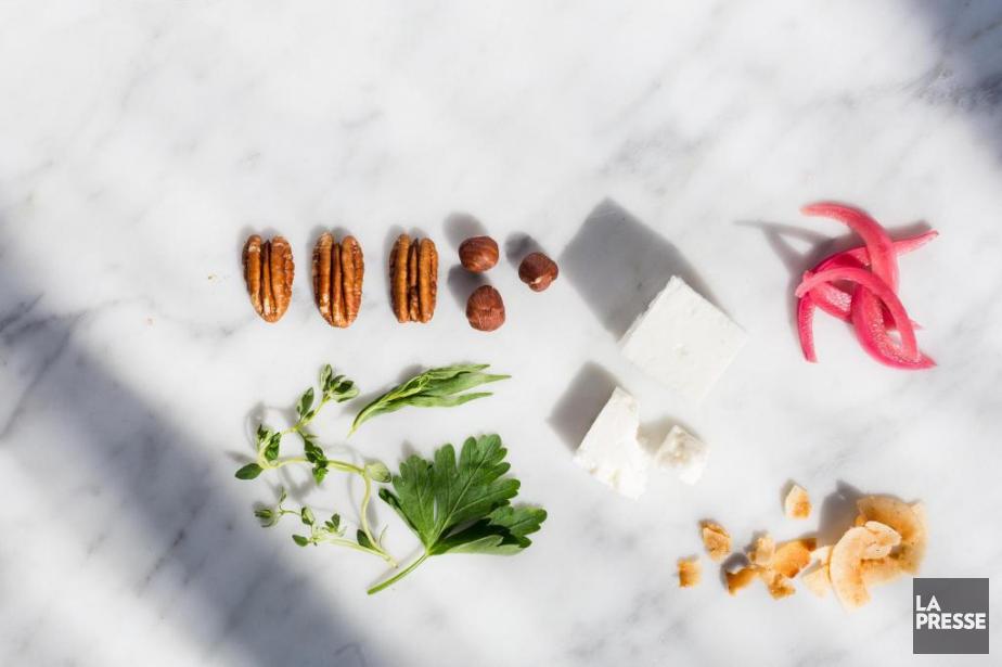 Quelques ingrédients à avoir sous la main pour... (Photo Édouard-Plante Fréchette, La Presse)