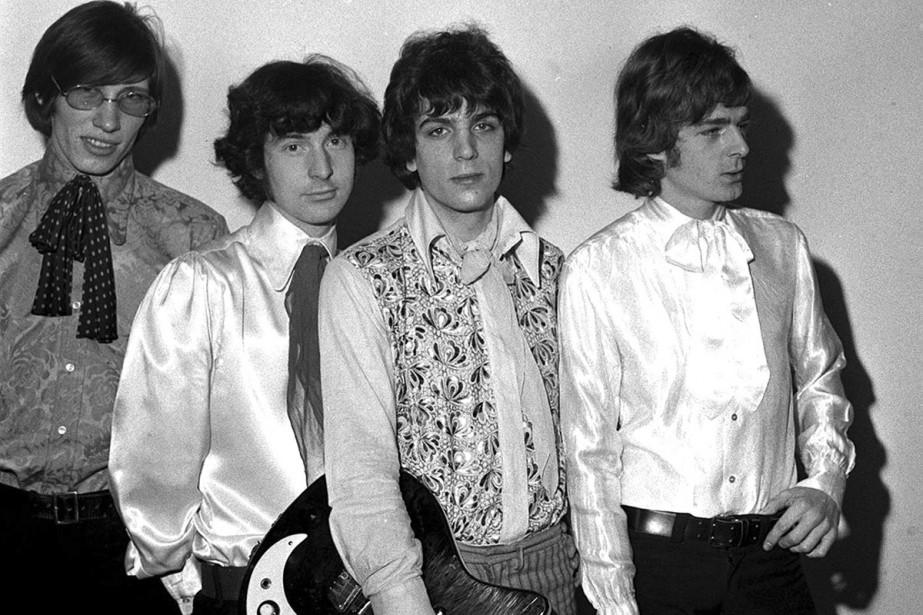 Les membres de Pink Floyd en mars 1967:... (PHOTO ARCHIVES AP)