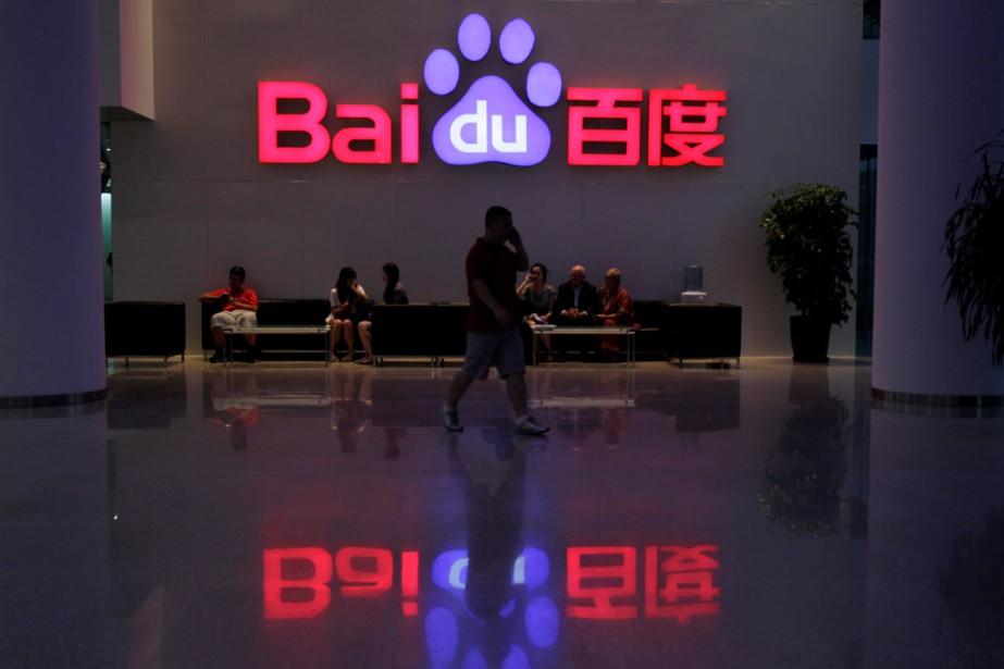 Le chiffre d'affaires de Baidu a progressé pour... (PHOTO REUTERS)