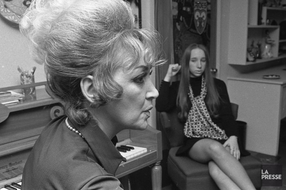 Lucille Dumont, en 1970... (PHOTO ANTOINE DÉSILETS, LA PRESSE)