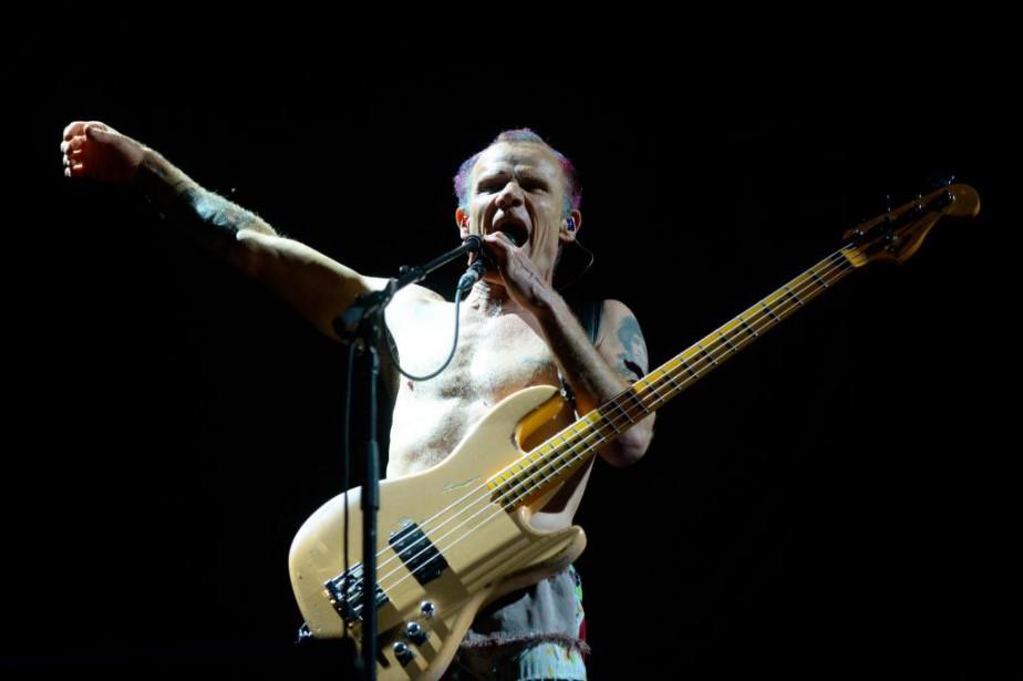 Flea, bassiste emblématique et membre fondateur de Red... (PHOTO CATHERINE LEFEBVRE, COLLABORATION SPÉCIALE)
