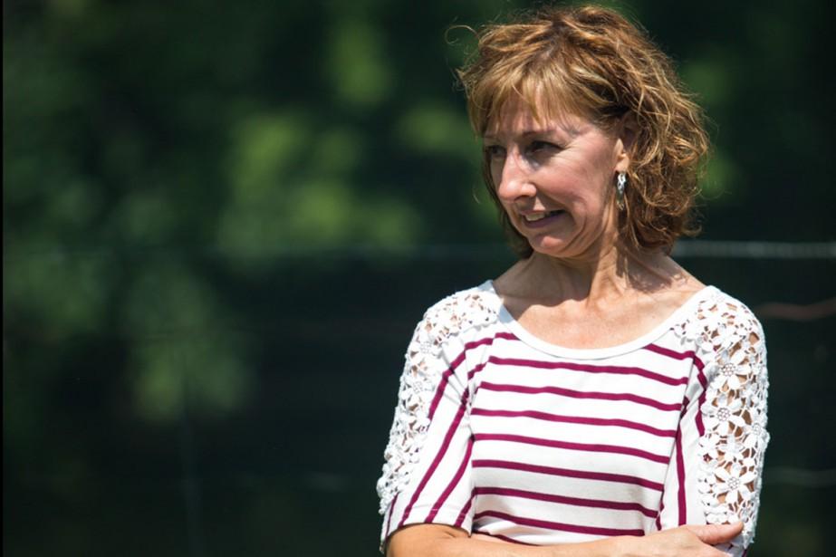 Sylvie Bourassa, la conjointe du propriétaire, était à l'intérieur de la maison quand elle a aperçu de la fumée. Elle a tout de suite alerté les pompiers. (Olivier Croteau, Le Nouvelliste)